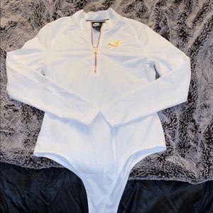 Nike bodysuit/sweater